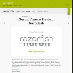 Razorfish: The Agency for Marketing, Experience and Enterprise Design