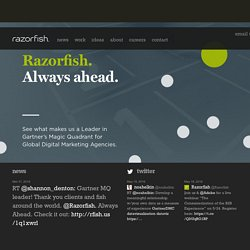 Razorfish: The Agency for Marketing, Experience & Enterprise Design for the Digital World