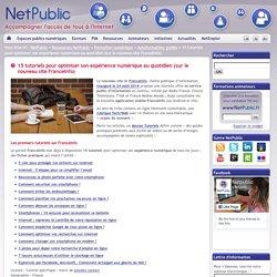 15 tutoriels pour optimiser son expérience numérique au quotidien (sur le nouveau site FranceInfo)