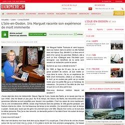 11/04/13 L'Isle-en-Dodon. Iris Marguet raconte son expérience de mort imminente - 11/04/2013