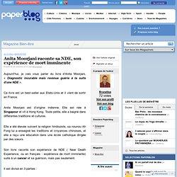 22/10/12 Anita Moorjani raconte son EMI BLOG Paperblog .fr
