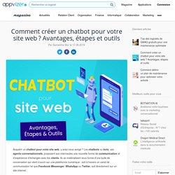 Chatbot site web : comment créer un assistant virtuel en ligne et améliorer l'expérience client grâce à la messagerie instantanée
