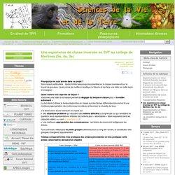 Une expérience de classe inversée en SVT au collège de Merlines (5e, 4e, 3e) - Site des Sciences de la Vie et de la Terre de l'Académie de Limoges