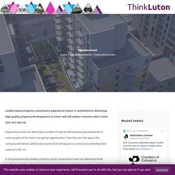 Experience Invest Luton developments