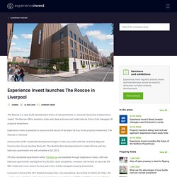 Experience Invest Liverpool developments