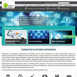 Connected Customer Experience Management Solutions - Happiest Minds