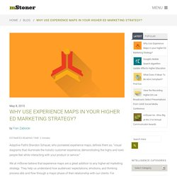 Why Use Experience Maps in your Higher Ed Marketing Strategy? - mStoner, Inc.