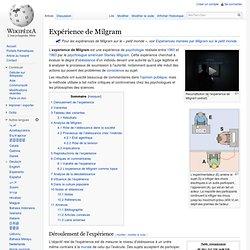 Expérience de Milgram
