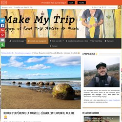 Retour d'expérience en Nouvelle-Zélande : interview de Juliette □