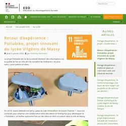 Retour d'expérience : Pollubike, projet innovant du lycée Vilgénis de Massy
