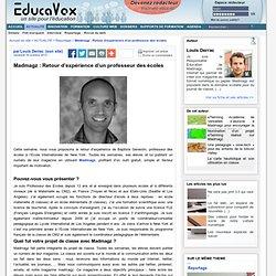 Madmagz : Retour d'expérience d'un professeur des écoles
