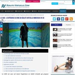 Le CAVE : l'expérience de réalité virtuelle ultime dans un cube 3D