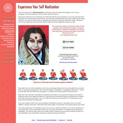 Experience It Now - Self Realization (Kundalini Awakening) through Sahaja Yoga