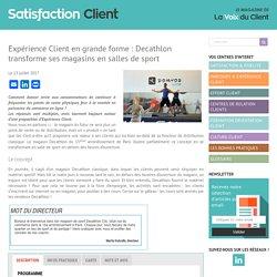 Expérience Client en grande forme : Decathlon transforme ses magasins en salles de sport - Satisfaction Client