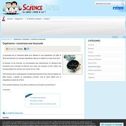 Science Junior .fr, science et expériences pour les 8 - 15 ans
