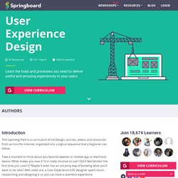 Learn User Experience (UX) Design - Free Curriculum