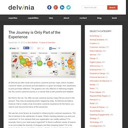 The Journey is Only Part of the Experience - Digital Strategy, Experience Design and Innovation
