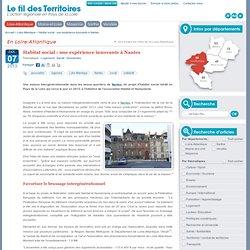 Habitat social : une expérience innovante à Nantes