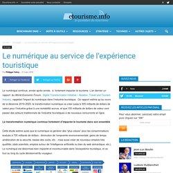Le numérique au service de l'expérience touristique