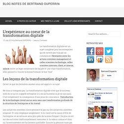 L'expérience au coeur de la transformation digitale