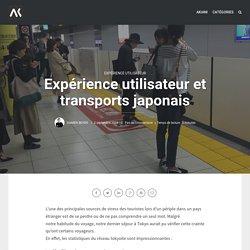 Expérience utilisateur et transports japonais - Akiani : UX & Facteurs Humains