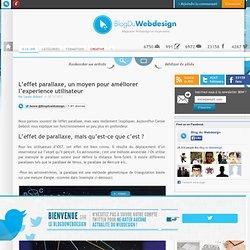 L'effet parallaxe, un moyen pour améliorer l'experience utilisateur - webdesign-parallaxe