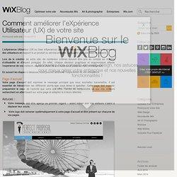 Conseils eXpérience Utilisateur UX- Le Blog Officiel de Wix
