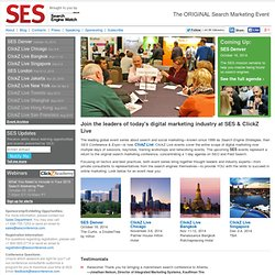 SES Conference & Expo | The Leading Search & Social Marketing Event