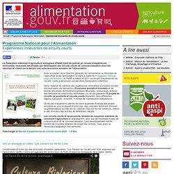 ALIMENTATION_GOUV_FR 20/01/12 Expériences innovantes de circuits courts