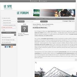 Forum L'Atelier Paysan - Serres Mobiles : retours d'expériences... : Bâtis autoconstruits