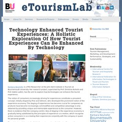 Technology Enhanced Tourist Experiences: A holistic exploration of how tourist experiences can be enhanced by technology