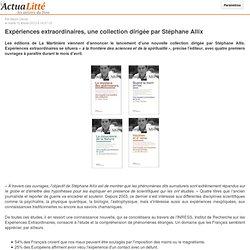 12/02/13 nouvelle collection dirigée par Stéphane Allix