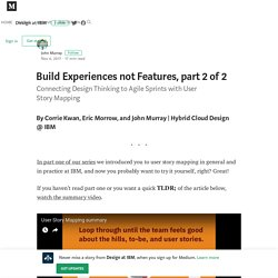 Build Experiences not Features, part 2 of 2 – Design at IBM