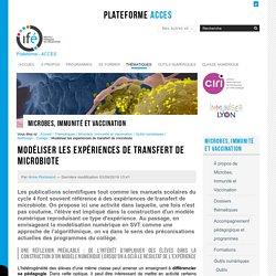 Modéliser les expériences de transfert de microbiote