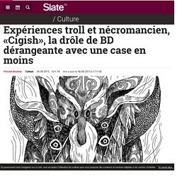 Expériences troll et nécromancien, «Cigish», la drôle de BD dérangeante avec une case en moins