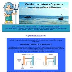 Expériences océaniques
