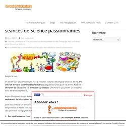 100 expériences à faire pour des séances de Science