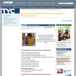 How Process Art Experiences Support Preschoolers