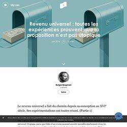 Revenu universel : toutes les expériences prouvent que la proposition de Benoît Hamon n'est pas utopique
