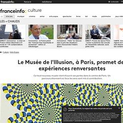 Le Musée de l'Illusion, à Paris, promet des expériences renversantes