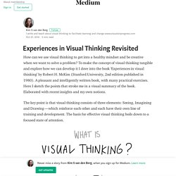 Experiences in Visual Thinking Revisited – Kim S van den Berg