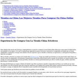 Experiencia De Compra Con La Tienda China Ericdress
