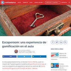 Escaperoom: una experiencia de gamificación en el aula