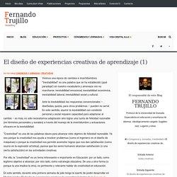El diseño de experiencias creativas de aprendizaje (1)