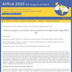Pensar los vinculos sociales en ibero-america. Lenguajes, experiencias y temporalidades (siglo XV-XXI) - Sciencesconf.org