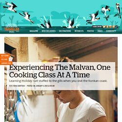 Experiencing The Malvan, One Cooking Class At A Time