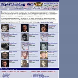 Experiencing War: The Korean War, Not Forgotten (Stories from th