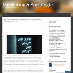 Qu'est-ce-que le marketing expérientiel et à quoi sert-il ? « Marketing & Sociologie