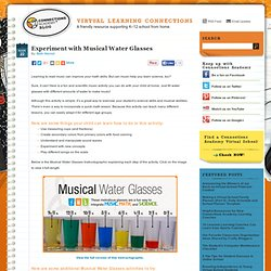 Experiment with Musical Water Glasses > Virtual Learning Connections