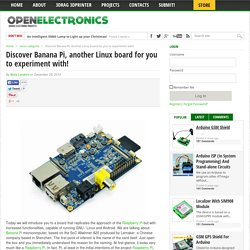 Discover Banana Pi, another Linux board for you to experiment with!